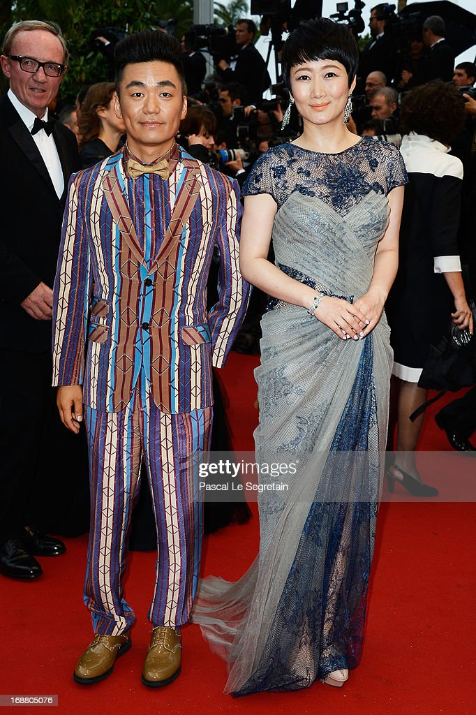 Zhao Tao attends the Opening Ceremony and 'The Great Gatsby' Premiere during the 66th Annual Cannes Film Festival at the Theatre Lumiere on May 15...