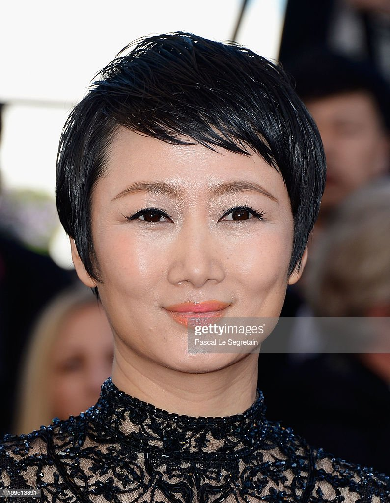 Zhao Tao attends the 'Zulu' Premiere and Closing Ceremony during the 66th Annual Cannes Film Festival at the Palais des Festivals on May 26, 2013 in Cannes, France.