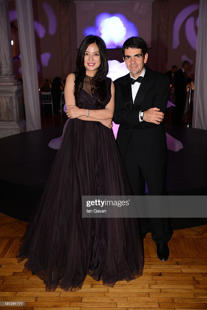 <a gi-track='captionPersonalityLinkClicked' href=/galleries/search?phrase=Zhao+Wei&family=editorial&specificpeople=540140 ng-click='$event.stopPropagation()'>Zhao Wei</a> and Jaeger-LeCoultre CEO <a gi-track='captionPersonalityLinkClicked' href=/galleries/search?phrase=Jerome+Lambert&family=editorial&specificpeople=4001752 ng-click='$event.stopPropagation()'>Jerome Lambert</a> attend a gala dinner hosted by Jaeger-LeCoultre celebrating The Rendez-Vous Collection at Giustinian Palace in Venice during the 69th Venice Film Festival on September 4, 2012 in Venice, Italy.