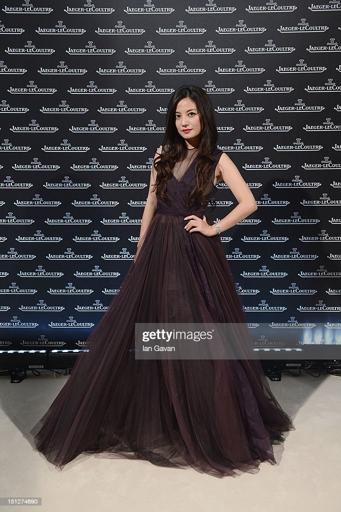 Zhao Wei attends a gala dinner hosted by Jaeger-LeCoultre celebrating The Rendez-Vous Collection at Giustinian Palace in Venice during the 69th Venice Film Festival on September 4, 2012 in Venice, Italy.