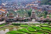 Zhaoxing Dong Village, Guizhou China