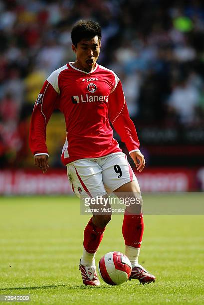 Zheng Zhi of Charlton Athletic in action during the Barclays Premiership match between Charlton Athletic and Sheffield United at The Valley on April...