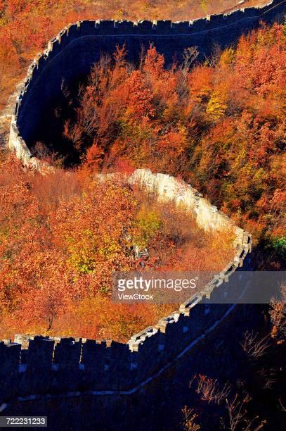 Zhengguanling Great Wall of Qinhuangdao in Hebei Province,China