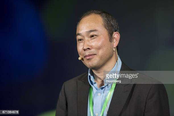 Zhou Daixing chief executive officer of Berry Genomics Co attends a session at the China Green Companies Summit in Zhengzhou China on Saturday April...