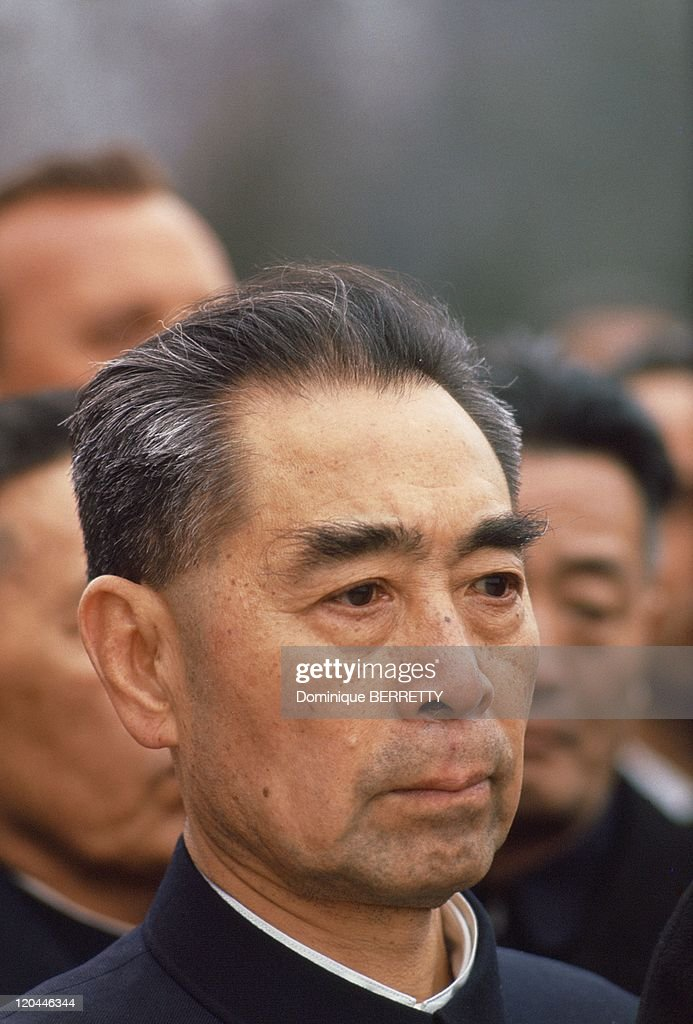 Zhou Enlai chinese gouvernment head in China in 1965