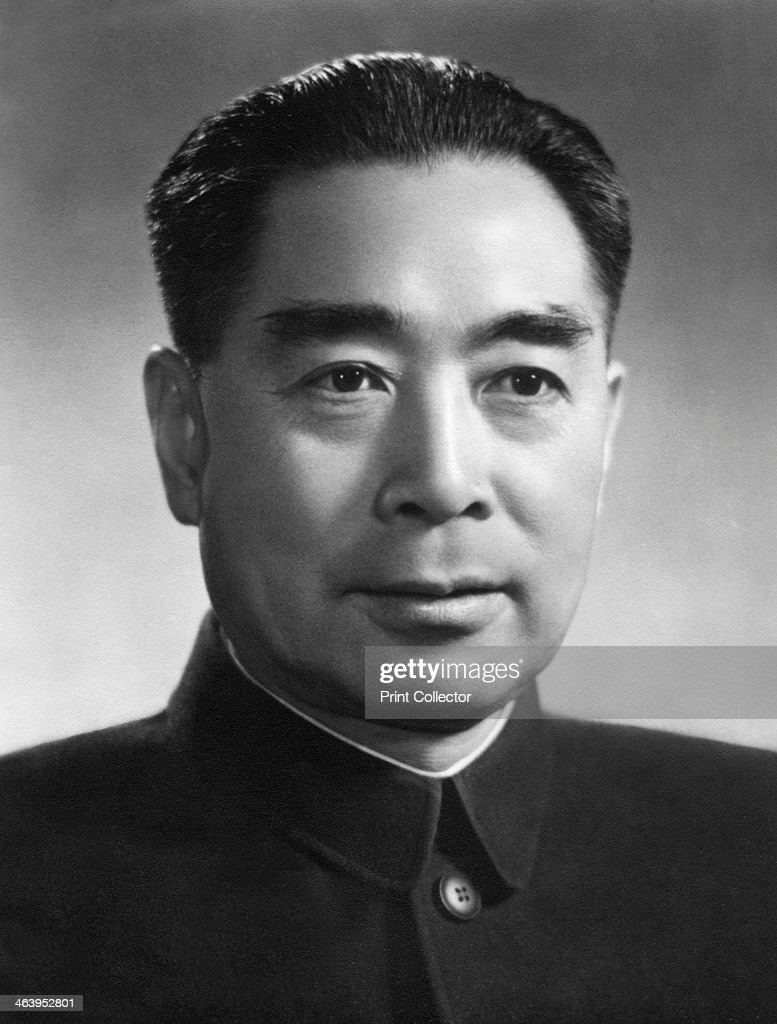 Zhou Enlai first Premier of the People's Republic of China c1950s Zhou was one of the foremost leaders of the People's Republic of China after the...