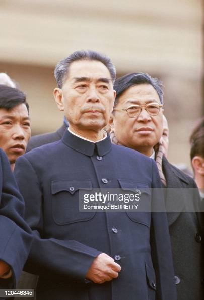 Zhou Enlai in China in 1965 Head of the Chinese government Died in 1976