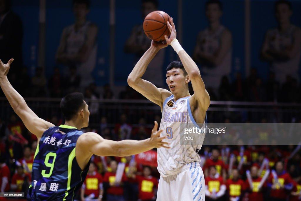 Xinjiang Flying Tigers v Guangdong Southern Tigers - 2017 CBA Finals Game One