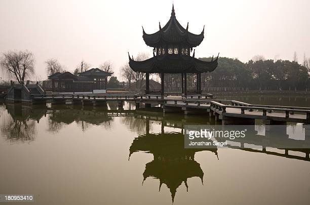 CONTENT] Zhouzhuang is a water town in the Jiangsu province China It is sometimes referred to as the 'Venice' of China