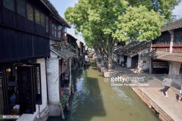 Zhouzhuang Water town near Suzhou, Jiangsu Provence, China