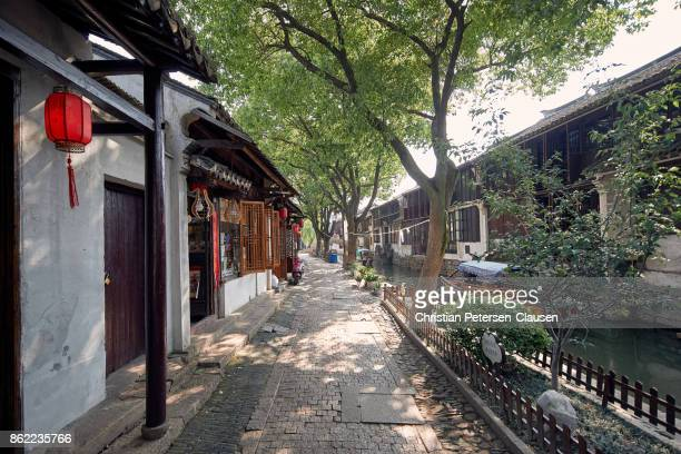 Zhouzhuang Water town residential alley