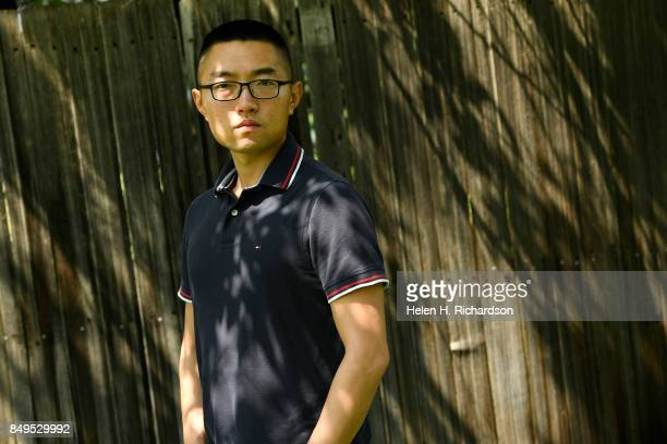 Zhu is photographed on August 6 2017 in Littleton Colorado HJ Zhu is a Chinese man who enlisted in the US military through a program called MAVNI...