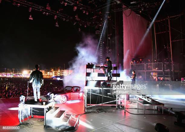 Zhu performs on Downtown Stage during day 3 of the 2017 Life Is Beautiful Festival on September 24 2017 in Las Vegas Nevada