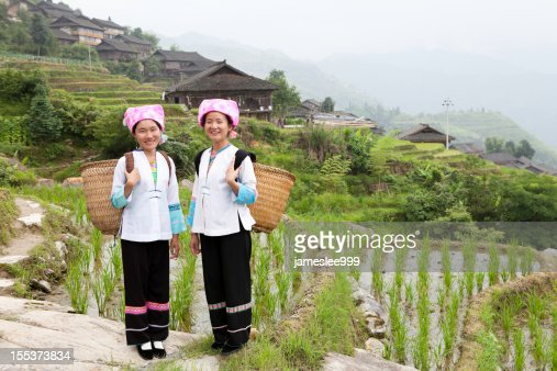 Zhuang Tribe Girls