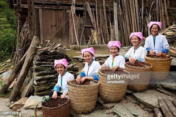 Zhuang Tribe femmes