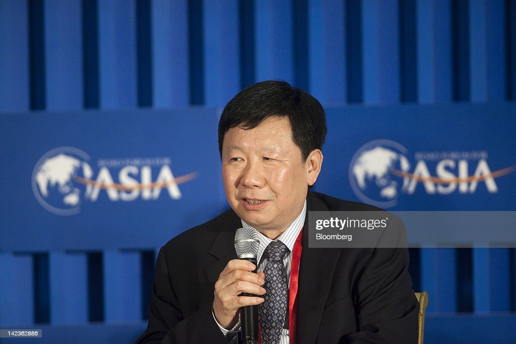 Zhuang Xinyi, vice chairman of the China Securities Regulatory Commission (CSRC), speaks during a session at the Boao Forum for Asia in Boao, Hainan Province, China, on Tuesday, April 3, 2012. The Boao Forum ends today. Photographer: Nelson Ching/Bloomberg via Getty Images