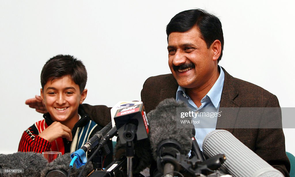 Family Of Malala Yousafzai Arrive In UK