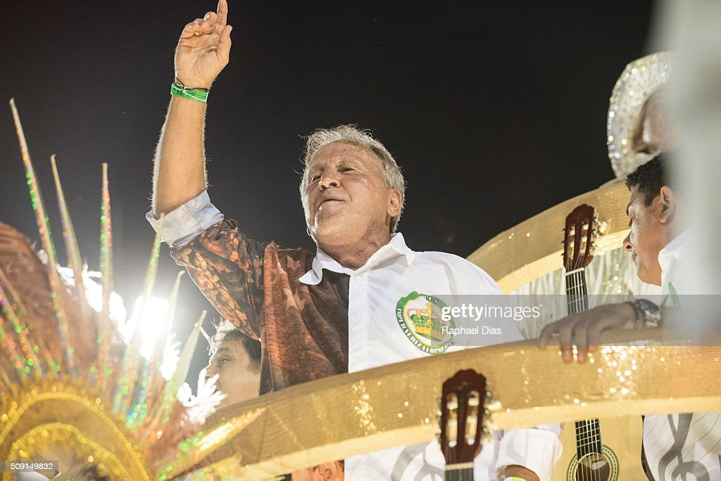 <a gi-track='captionPersonalityLinkClicked' href=/galleries/search?phrase=Zico&family=editorial&specificpeople=243229 ng-click='$event.stopPropagation()'>Zico</a> attends to the Rio Carnival in Sambodromo on February 8, 2016 in Rio de Janeiro, Brazil. Despite the Zika virus epidemic, thousands of tourists gathered in Rio de Janeiro for the carnival.