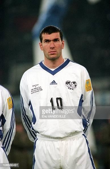 Zidane in Rome Italy on December 16 1998