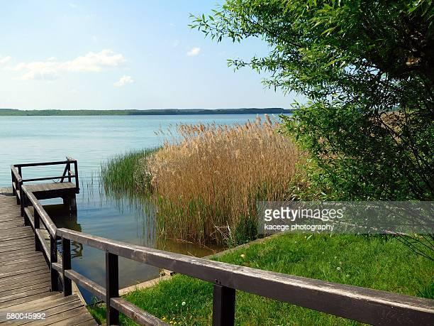 Zierker See, Neustrelitz, Mecklenburg Lake District