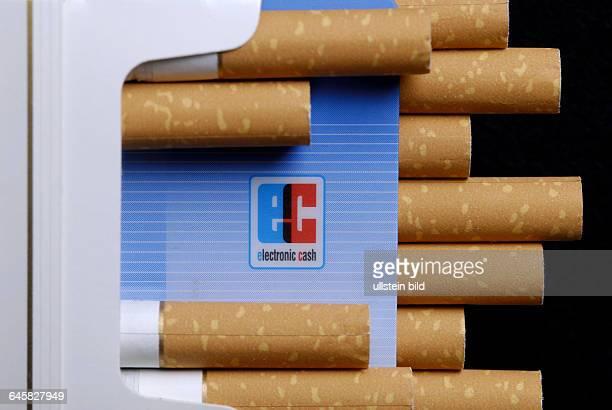 Zigarette Zigaretten EC ECKarte ECKarten Automat Automaten Zigarettenautomat Zigarettenautomaten Geld Bezahlung Jugendschutz Gesundheit...