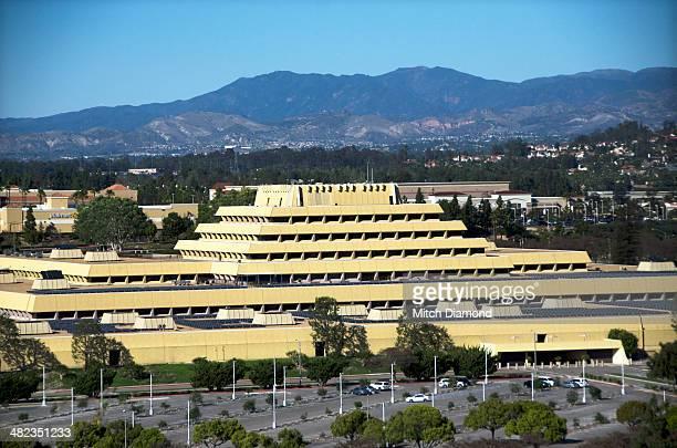 Ziggurat building in Orange County