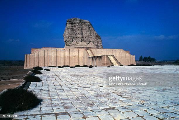 Ziggurat of DurKurigalzu 16801160 BC Akar Kuf Baghdad Iraq Kassite civilisation 17th12th century BC