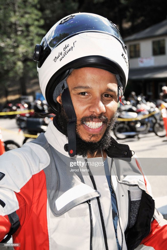 Ziggy Marley arrives at 'Marley Africa Road Trip' Los Angeles Premiere at Newcomb's Ranch Roadhouse on May 10 2013 in La CanadaFlintridge California