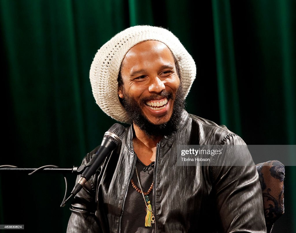 Ziggy Marley attends a QA and screening for the film 'Bob Marley The Wailers Easy Skanking in Boston '78' at The GRAMMY Museum on February 18 2015 in...