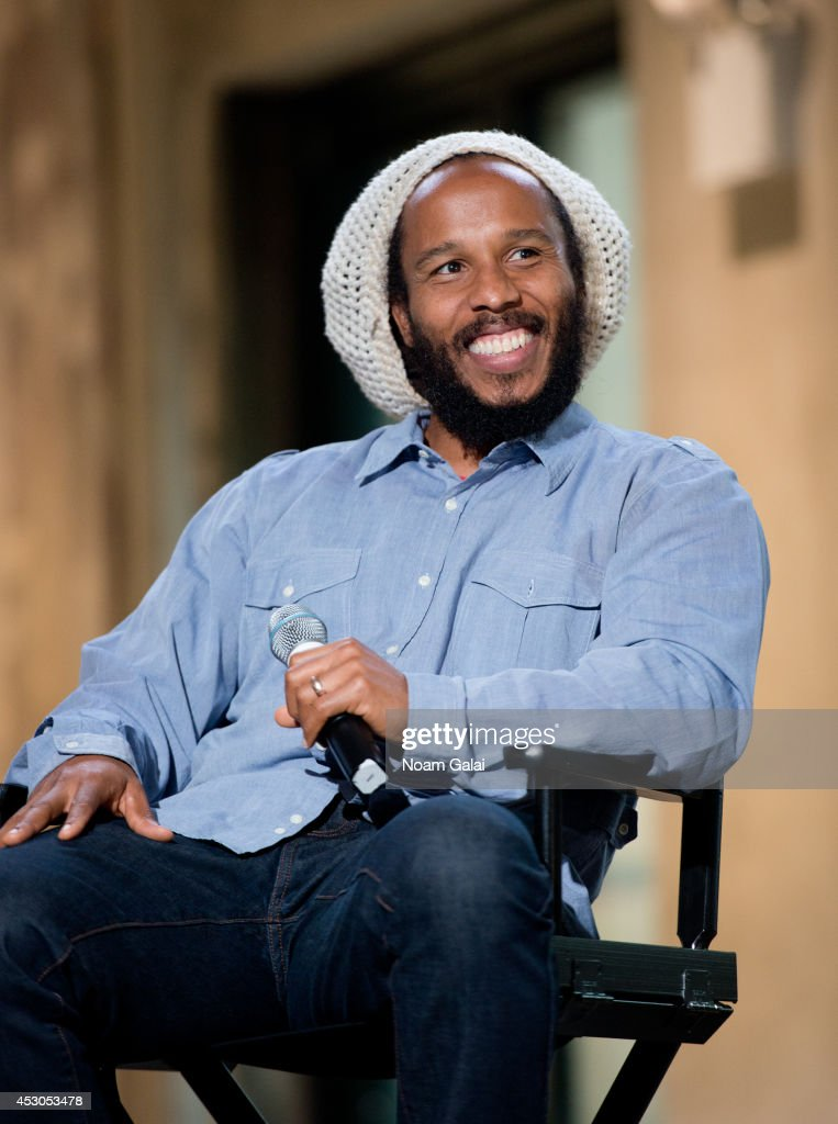 Ziggy Marley attends AOL's Build Speakers Series Ziggy Marley on August 1 2014 in New York United States