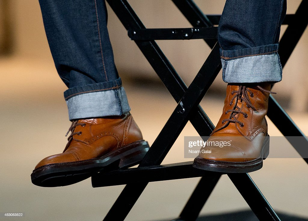 <a gi-track='captionPersonalityLinkClicked' href=/galleries/search?phrase=Ziggy+Marley&family=editorial&specificpeople=161393 ng-click='$event.stopPropagation()'>Ziggy Marley</a> (shoe detail) attends AOL's Build Speakers Series: <a gi-track='captionPersonalityLinkClicked' href=/galleries/search?phrase=Ziggy+Marley&family=editorial&specificpeople=161393 ng-click='$event.stopPropagation()'>Ziggy Marley</a> on August 1, 2014 in New York, United States.