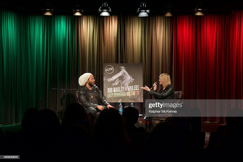 Ziggy Marley attends 'Bob Marley The Wailers Easy Skanking In Boston '78' screening and QA at The GRAMMY Museum on February 18 2015 in Los Angeles...
