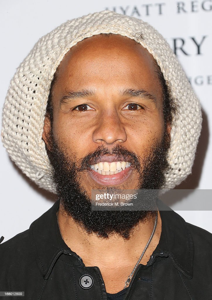 Ziggy Marley attends the 20th Annual Race to Erase MS Gala 'Love to Erase MS' at the Hyatt Regency Century Plaza on May 3, 2013 in Century City, California.