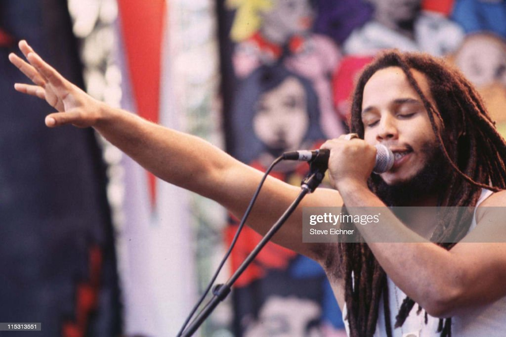Ziggy Marley during HORDE Tour 1995 in New York City New York United States