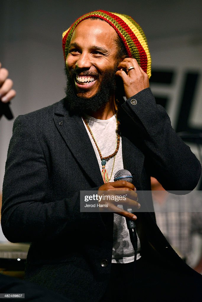 Ziggy Marley performs during 'An Evening With Ziggy Marley At Sonos Studio on April 3 2014 in Los Angeles California