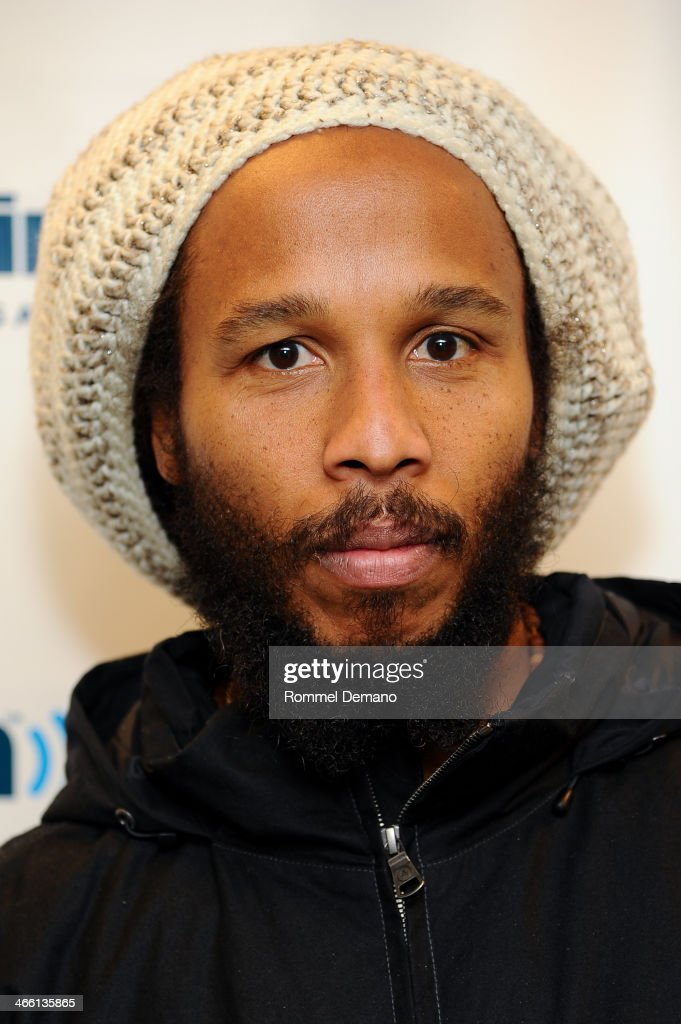 Ziggy Marley visits at SiriusXM Studios on January 31 2014 in New York City