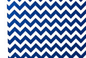 Zigzag pattern blue and white for background and texture.
