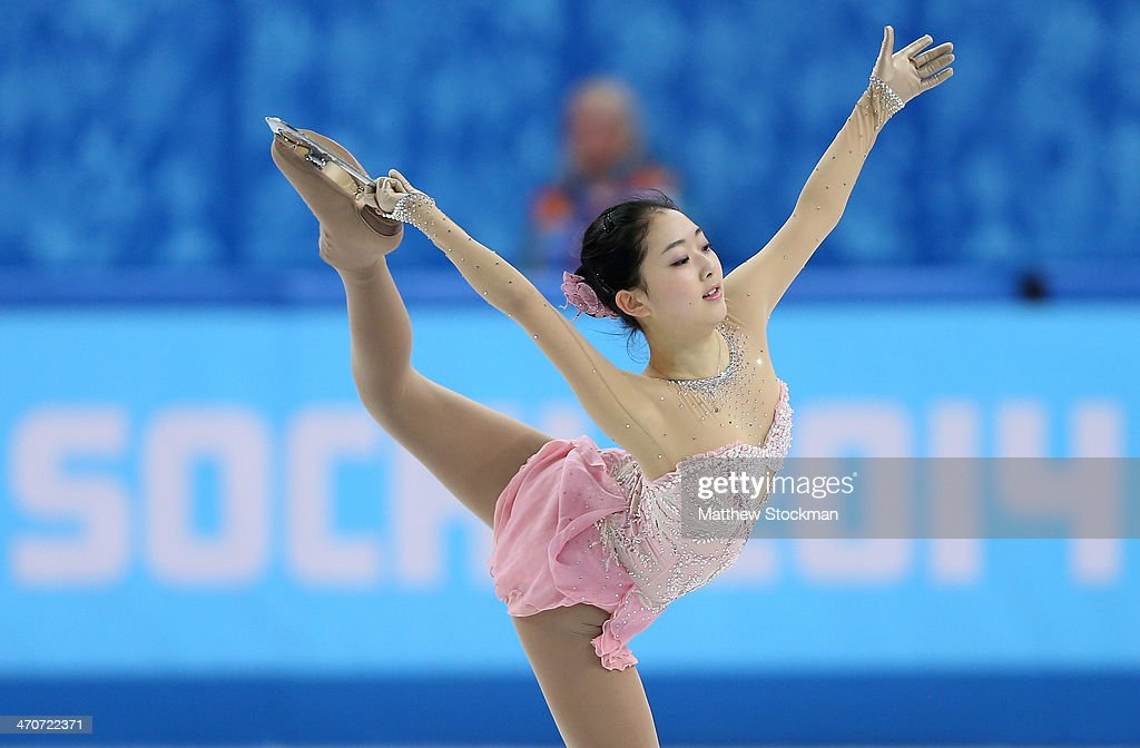 Zijun Li of China competes in the Figure Skating Ladies' Free Skating on day 13 of the Sochi 2014 Winter Olympics at Iceberg Skating Palace on February 20, 2014 in Sochi, Russia.