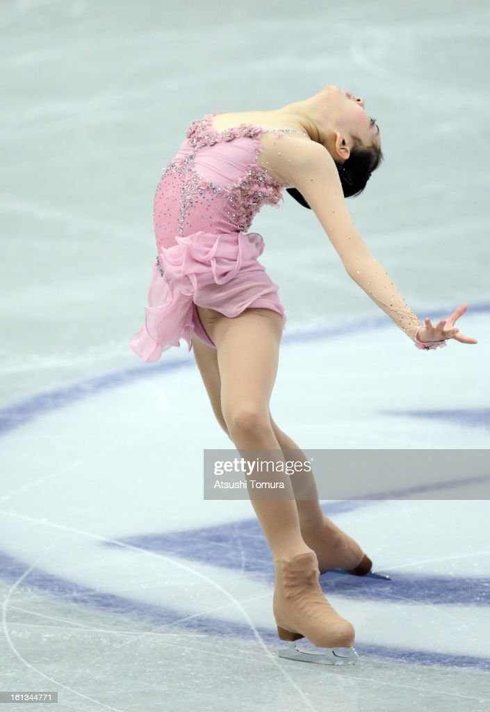 Zijun Li of China competes in the Women's Free Skating during day three of the ISU Four Continents Figure Skating Championships at Osaka Municipal Central Gymnasium on February 10, 2013 in Osaka, Japan.