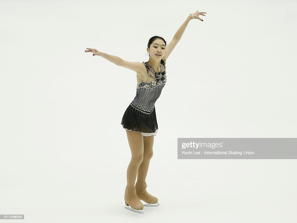 Zijun Li of China performs during the Ladies Free Skating on day three of the ISU Four Continents Figure Skating Championships 2016 at Taipei Arena on February 20, 2016 in Taipei City, Taiwan.