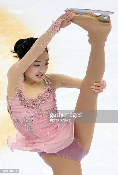 Zijun Li of China performs her routine in the Ladies Free Skating program during the Cup of China the third event on the ISU Grand Prix figure...