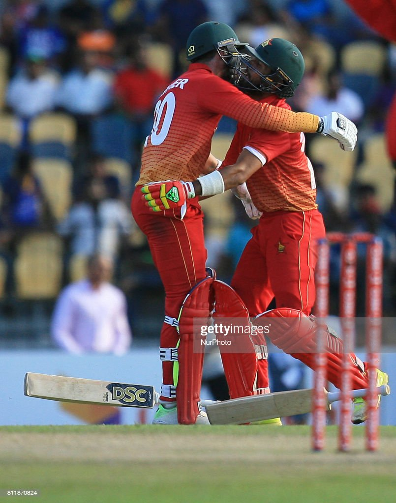 Sri Lanka vs Zimbabwe - 5th ODI match