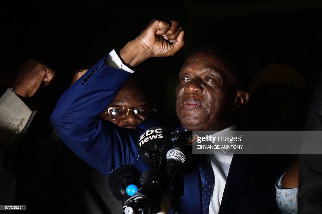 Zimbabwe's next leader Emmerson Mnangagwa prepares to take power