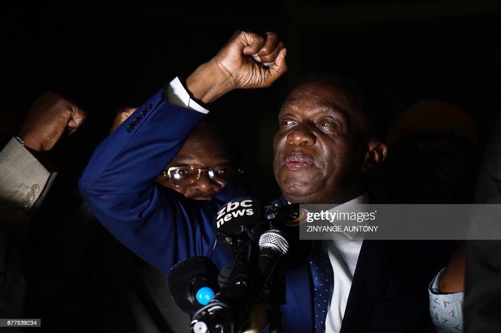 Zimbabwe's next leader Emmerson Mnangagwa prepares to take power