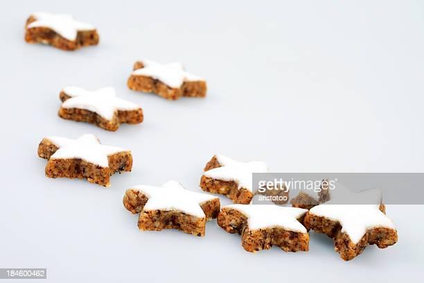 Zimtsterne/Cinnamon Star Cookies