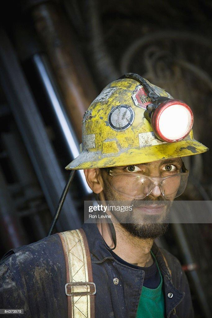 zinc miner, portrait