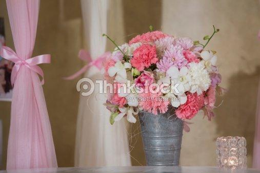 Zinc Vase And Flower Stock Photo | Thinkstock