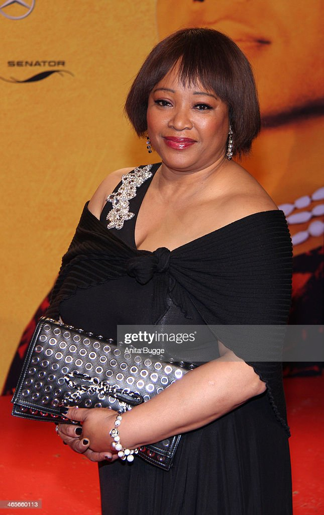 <a gi-track='captionPersonalityLinkClicked' href=/galleries/search?phrase=Zindzi+Mandela&family=editorial&specificpeople=4650558 ng-click='$event.stopPropagation()'>Zindzi Mandela</a> attends the premiere of the film 'Mandela: Long Walk to Freedom' (Mandela: Der lange Weg zur Freiheit) at Zoo Palast on January 28, 2014 in Berlin, Germany.