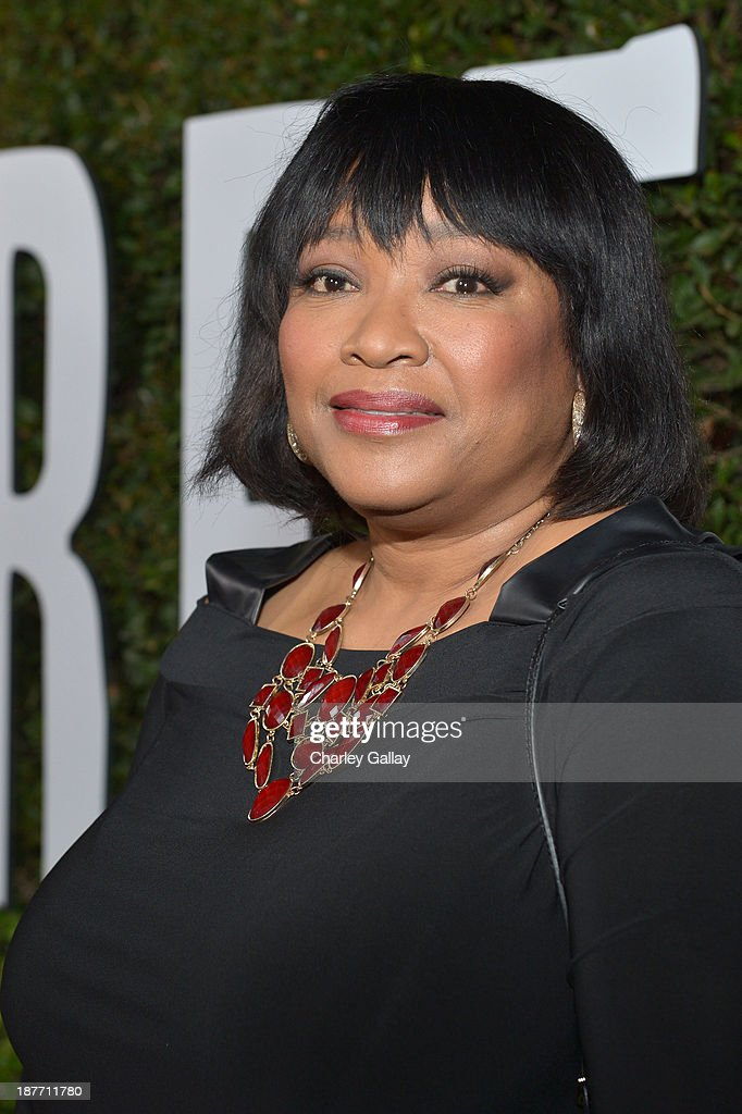 <a gi-track='captionPersonalityLinkClicked' href=/galleries/search?phrase=Zindzi+Mandela&family=editorial&specificpeople=4650558 ng-click='$event.stopPropagation()'>Zindzi Mandela</a> attends 'The Weinstein Company Presents The LA Premiere Of 'Mandela: Long Walk To Freedom' Supported By Burberry' at ArcLight Hollywood Cinerama Dome on November 11, 2013 in Los Angeles, California.