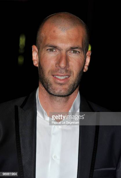 Zinedine Zidane attends 'Le Prix Ambassadeur ELA' at Musee du Quai Branly on May 6 2010 in Paris France